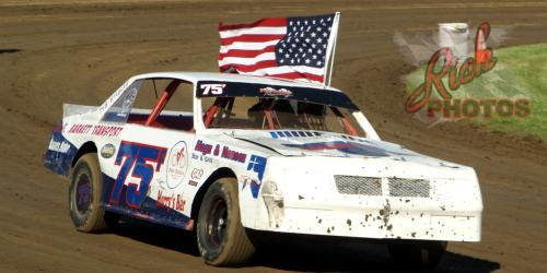 James Fletcher Parade Lap at Dodge County Fairgrounds Speedway