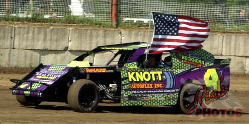 Shaun Johnston American Flag National Anthem Lap