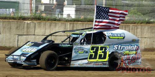 Dan Roedl American Flag National Anthem Lap