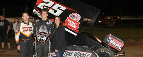 Blackhurst Wins First Career IRA Feature at Dodge County