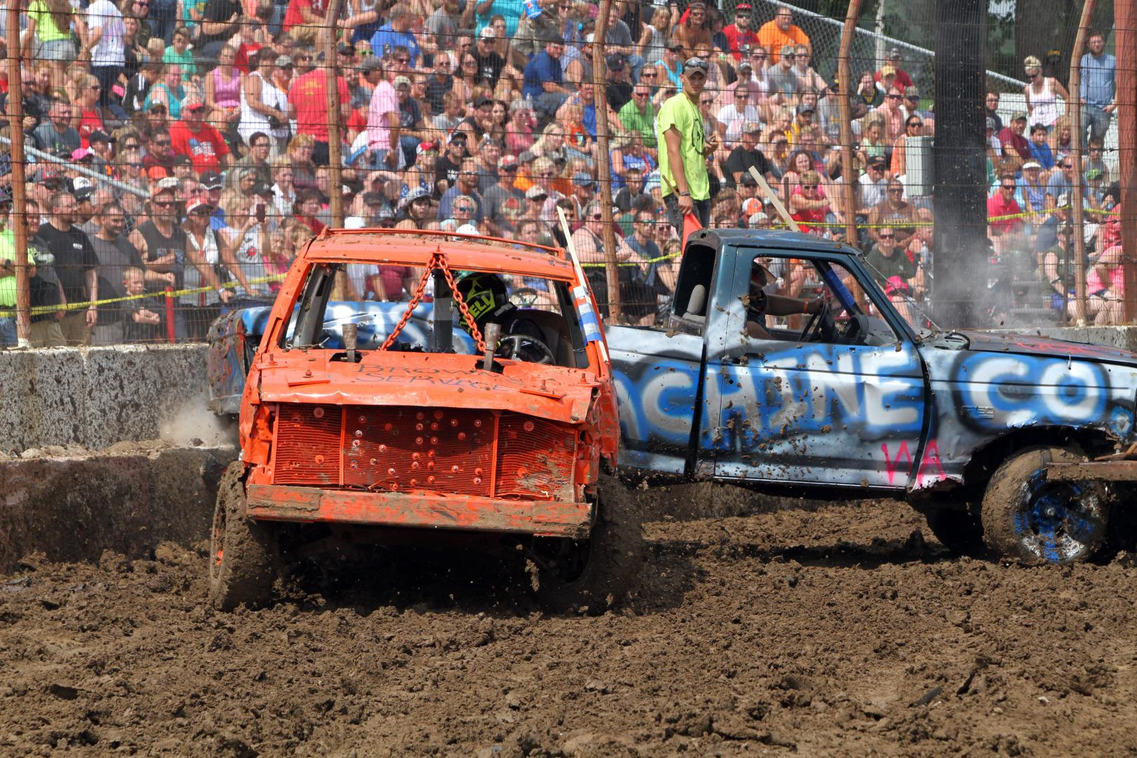Action Auto Demolition Derby Wisconsin