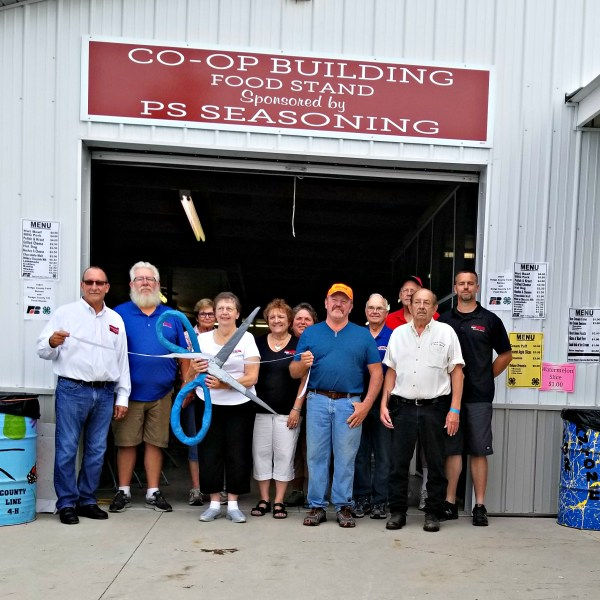 PS Seasoning and Spice sponsor Co-Op Building Renovation