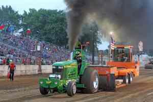 Coal Rollin Wisconsin Tractor Pull