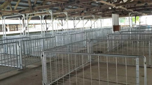 Dodge County Fair swine barn renovation