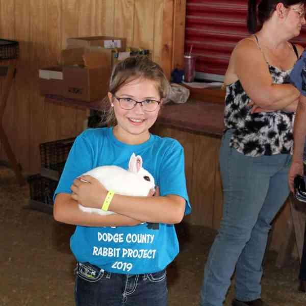 Little Bunny Huddle Showmanship