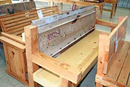 Dodge County Junior Fair Woodworking Display