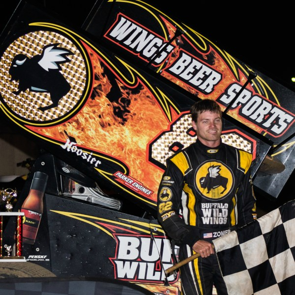 Dusty Zomer makes side trip payoff with IRA Win at Dodge County