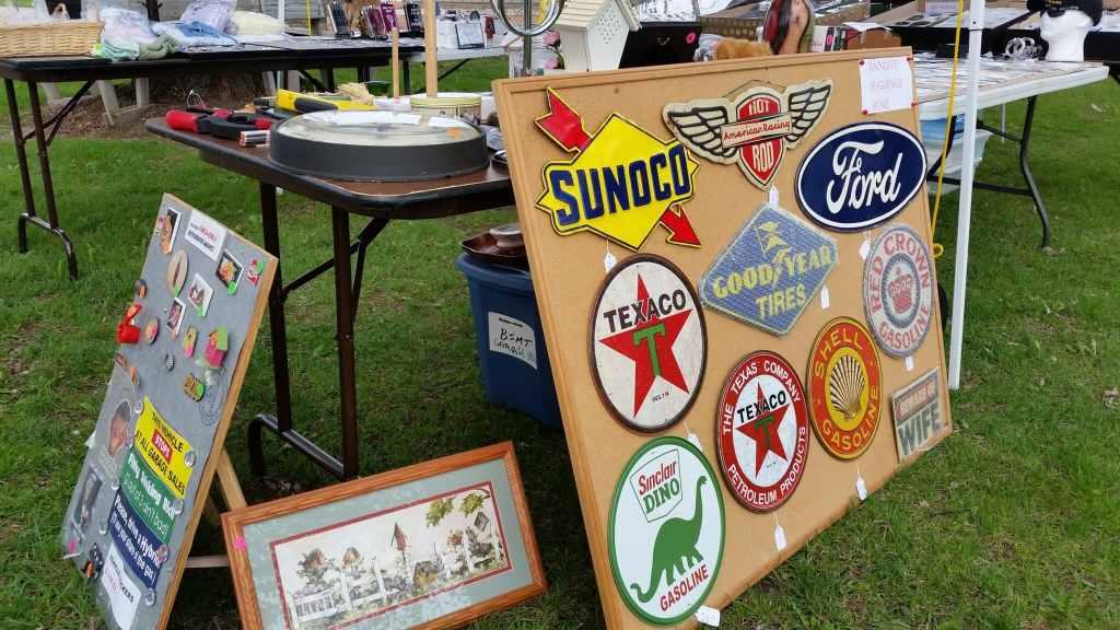 Flea Market Vintage Signs
