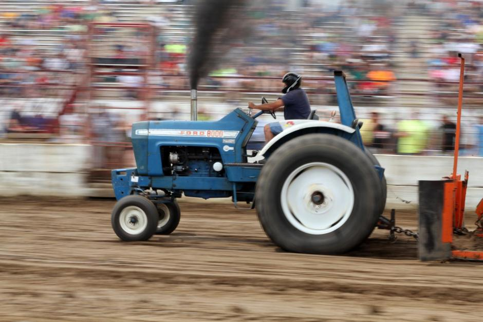 Ford Farm Tractor Pull Wisconsin