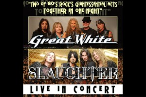 Great White Slaughter tour Beaver Dam Wisconsin