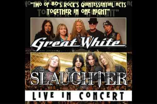 Great White Slaughter tour Beaver Dam Wisconsin