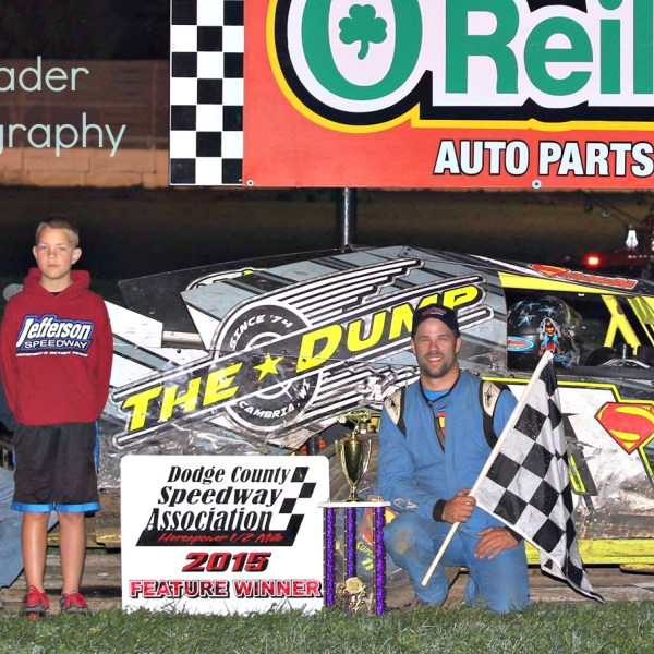 Christians and Schmuhl IMCA Track Champions