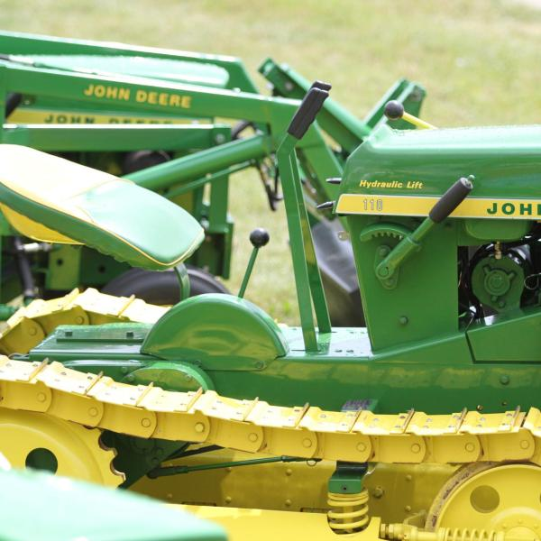 John Deere 50 Years of Hydro Power this Summer