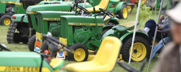 John Deere Lawn and Garden Equipment on display at 50 Years of Hydro Power