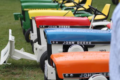 John Deere Patio Tractors Show Dodge County Fairgrounds