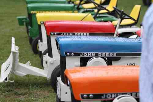 John Deere Patio Tractors Show Dodge County Fairgrounds