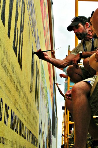 Mural Wall Painting Dodge County Fair