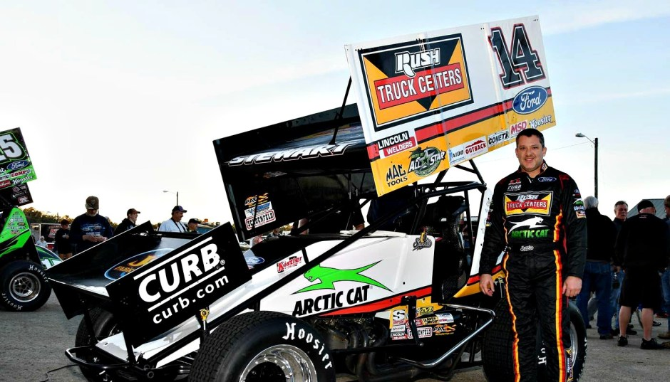 Tony Stewart IRA Winged Outlaw Sprint Car Racing