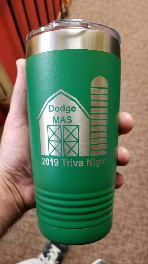 Trivia night polar mugs