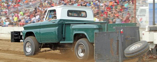 Pernat Haase Meats 4WD Truck Pull promises a smashing finish to 2019 Dodge County Fair