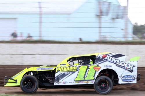 Jeff Schmuhl in the 11s Modified