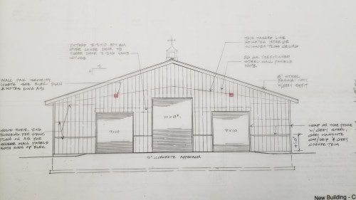 drawings new commercial building