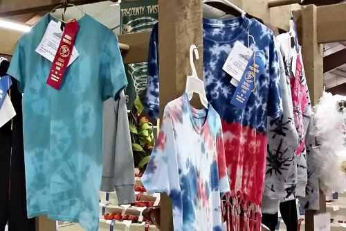 junior fair clothing exhibit