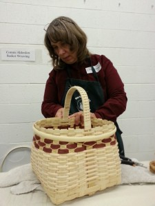 old time basket making