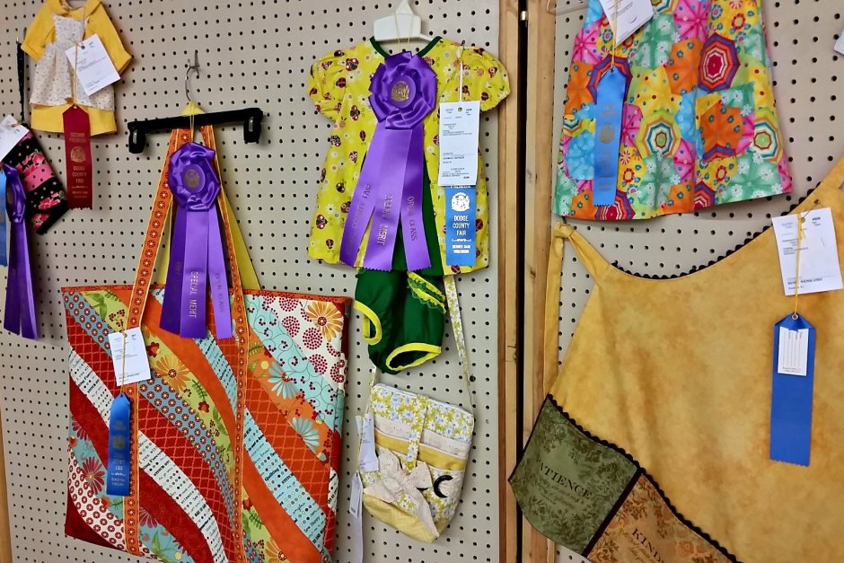 open class clothing exhibitor judging