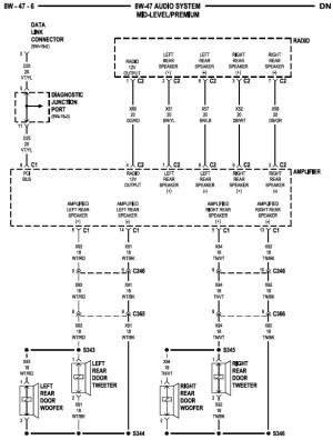 2000 Gen 1 Infinity System Wiring Diagram