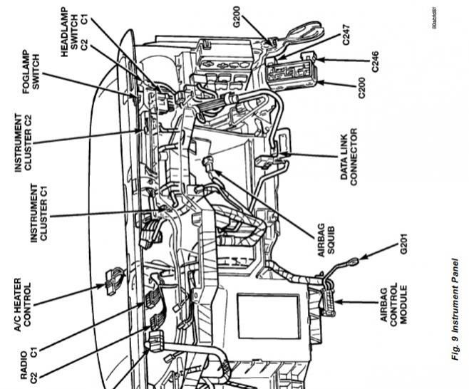 2000 dodge radio wiring diagram