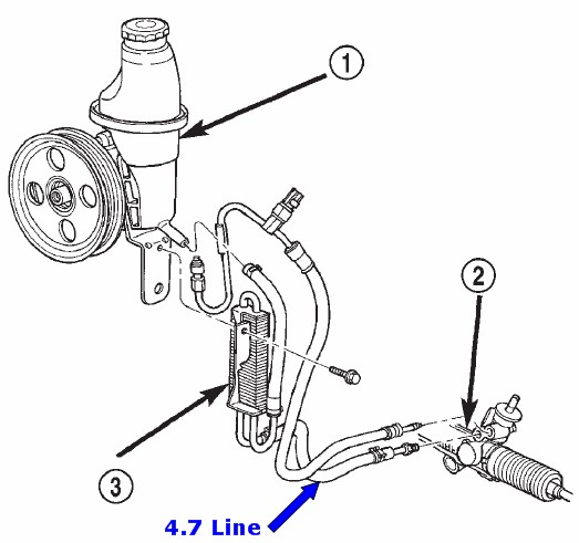 Power Steering Question and P/N Inquiry
