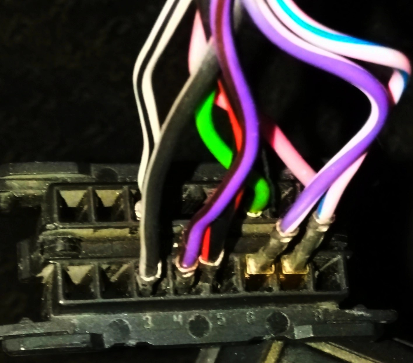 hight resolution of here s my connection seeking diagram of obd2 port plug wiring img 20180403 143147 jpg