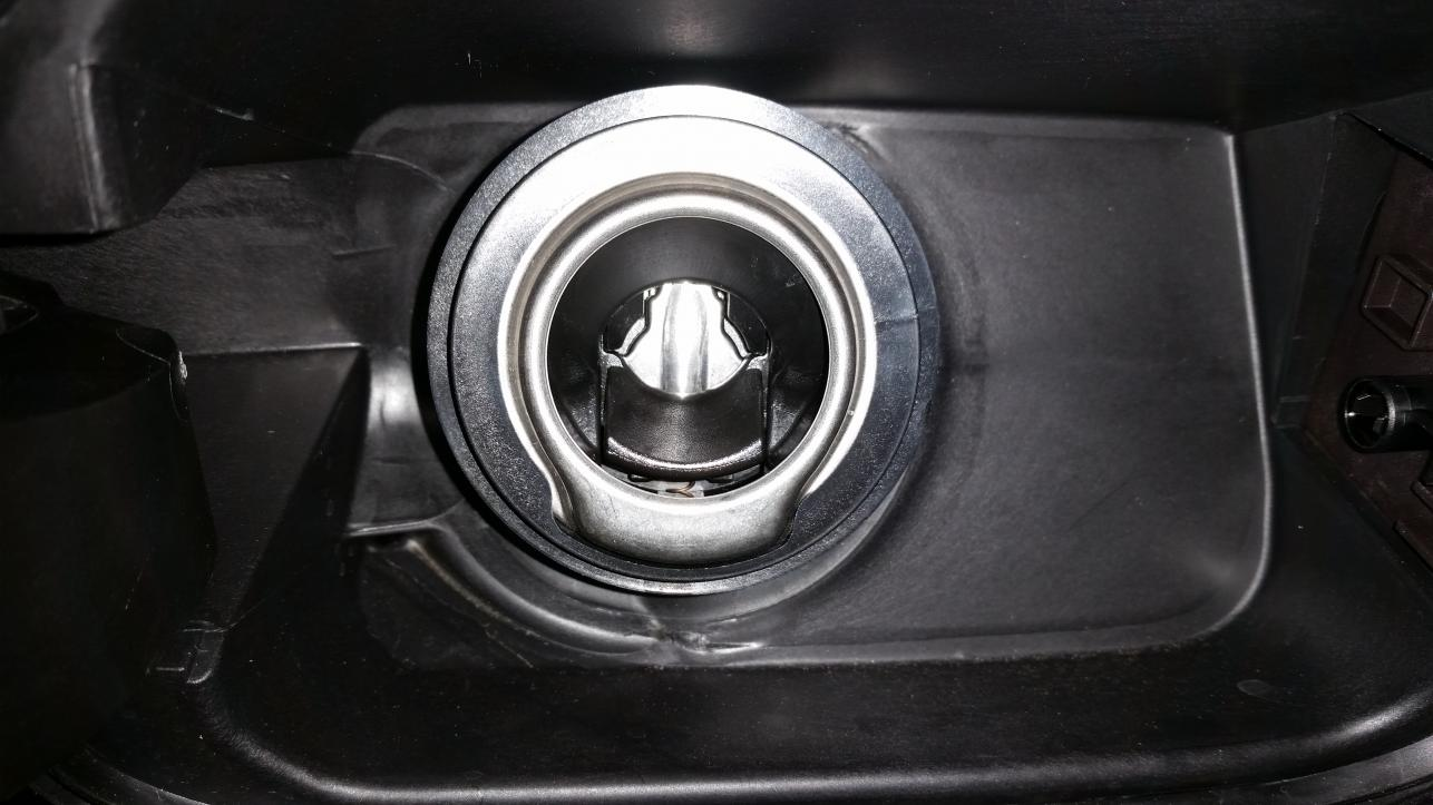 What is the plastic ring around the gas tank filler neck for