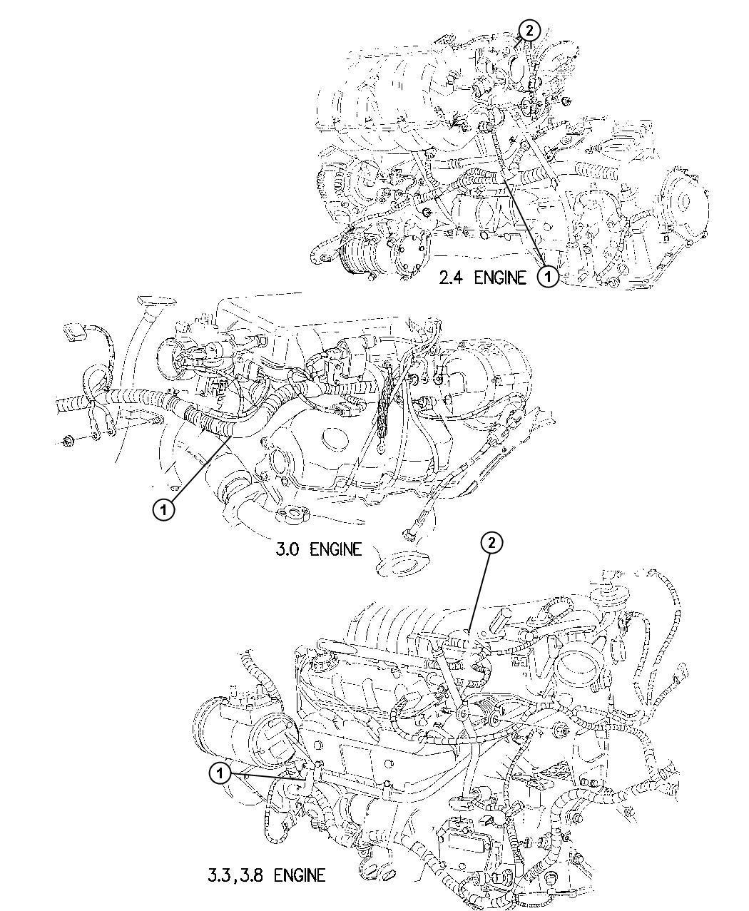 1997 Dodge Grand Caravan Wiring. Engine. Related, mopar