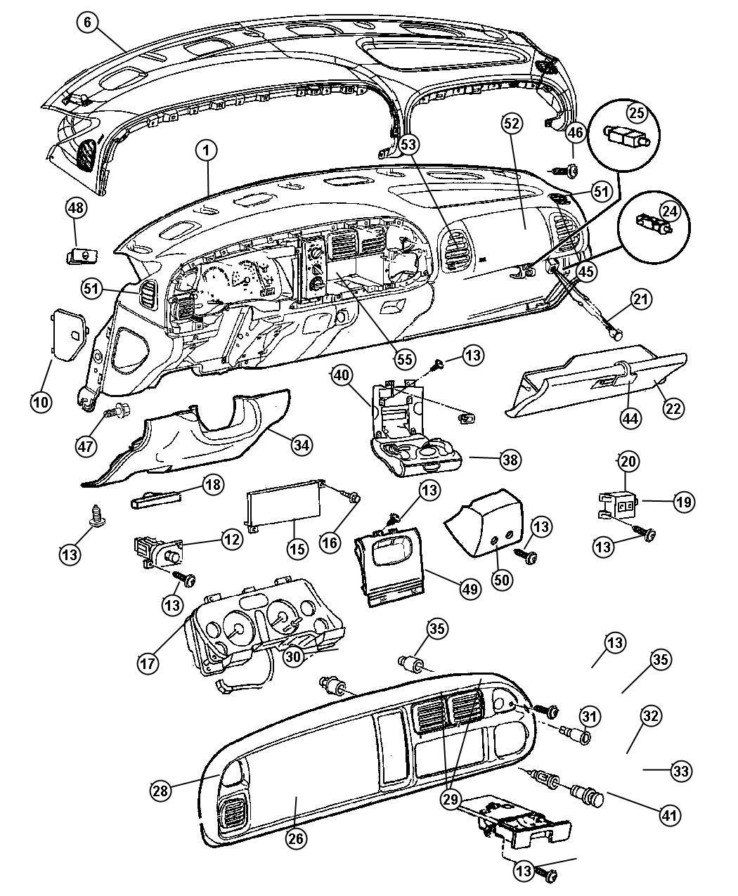 Dodge Dakota Instrument Cluster Wiring Diagram