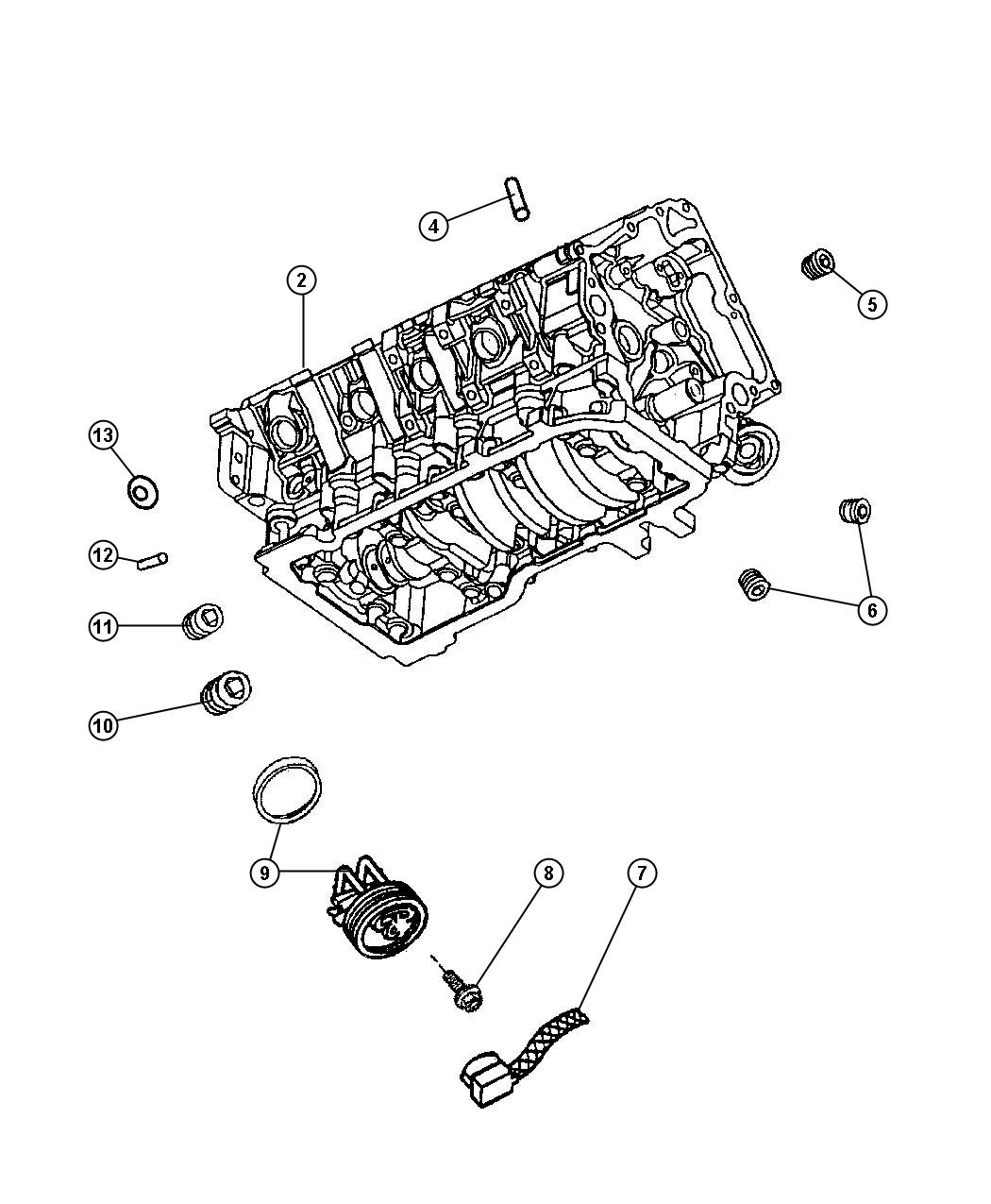 Dodge Ram 1500 Gasket kit, gasket package. Engine, engine