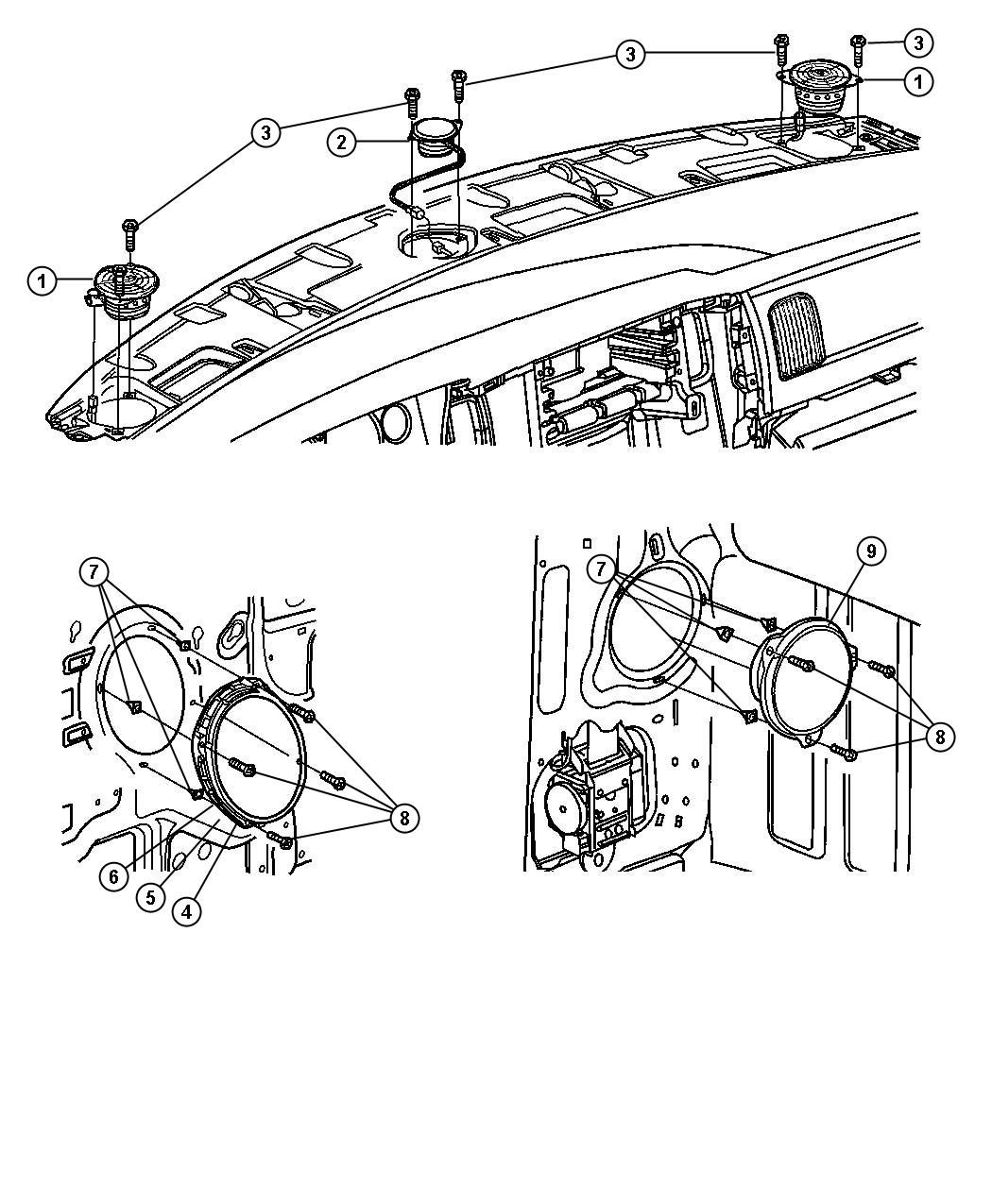 related with dodge ram infinity speaker wiring front