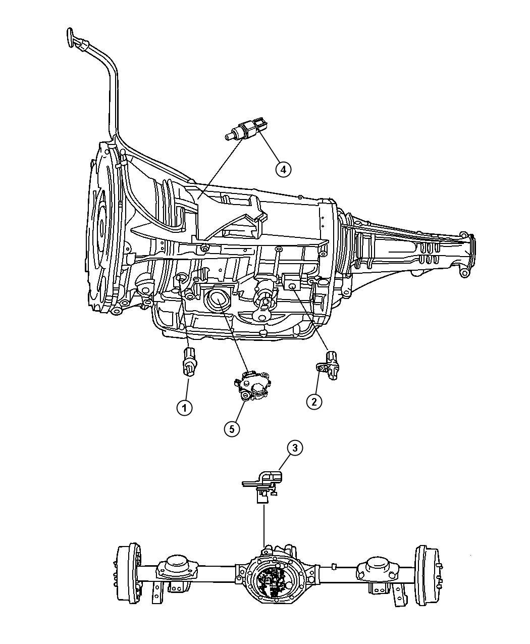 2007 Dodge Ram 3500 Range sensor, switch. Neutral start