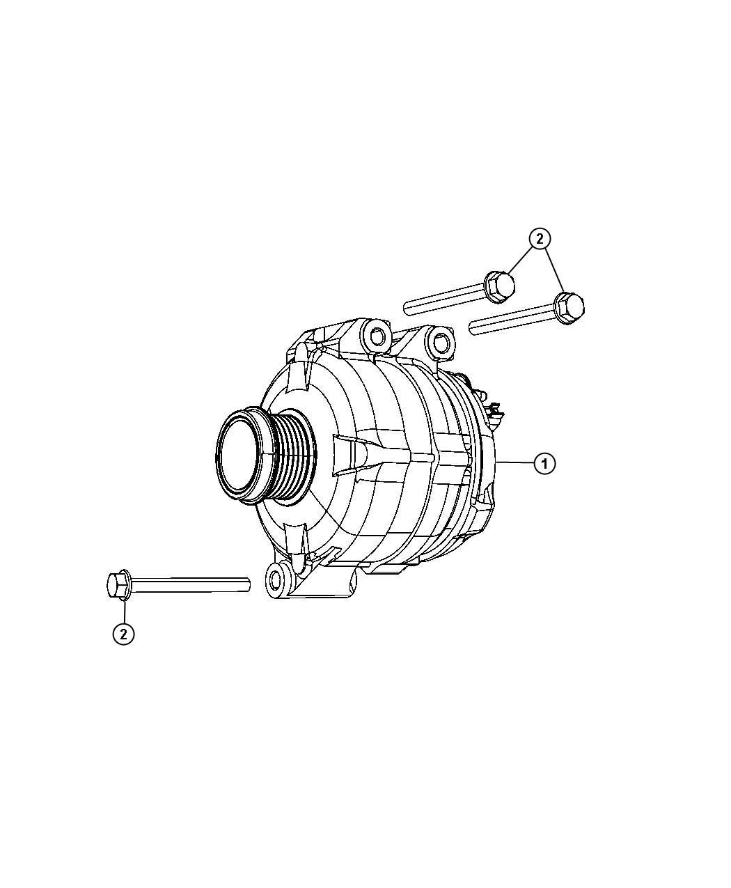 Dodge Express Generator Kit Engine Alternator Amp