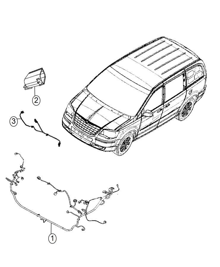 Dodge Grand Caravan Wiring. Headlamp. Quad, fog, lamps