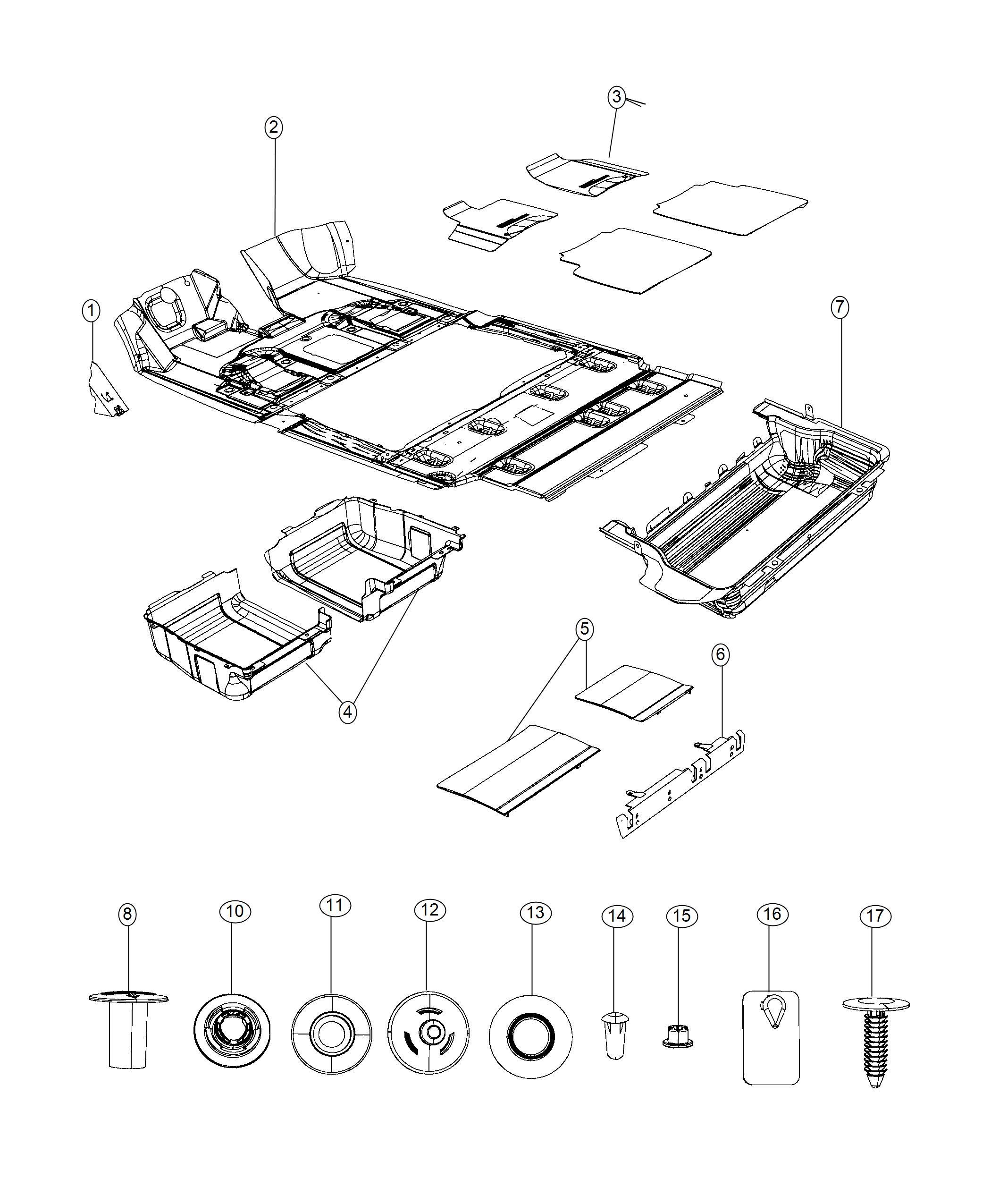 Dodge Grand Caravan Se 3 6l V6 Cover Plug Spare