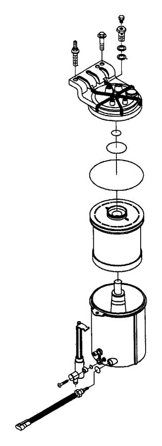 2006 dodge charger 3 5 fuel filter