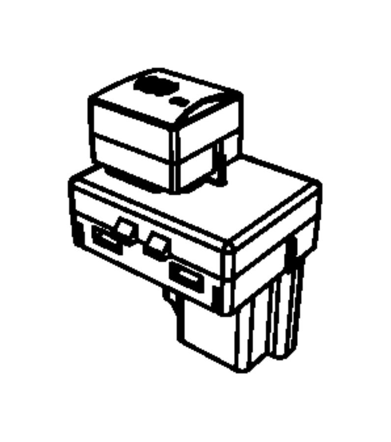 Dodge Ram 5500 Switch. Exhaust brake. Trim: [all trim