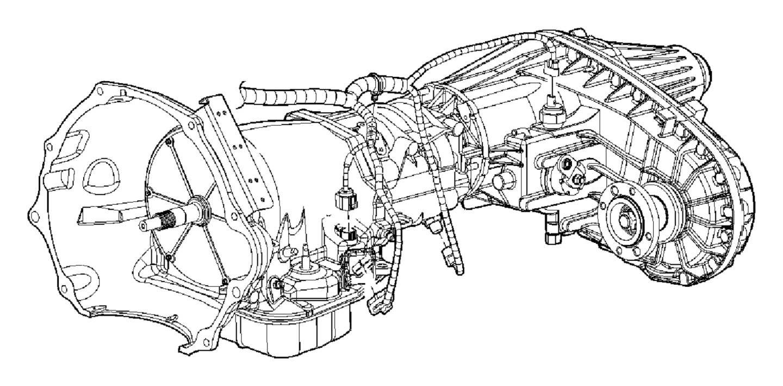 Dodge Ram 5500 Wiring. Transmission. [elec shift-on-the