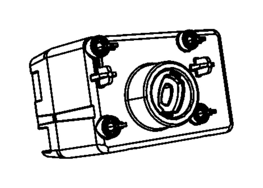Dodge Ram 1500 Receiver. Wireless ignition node. Trim