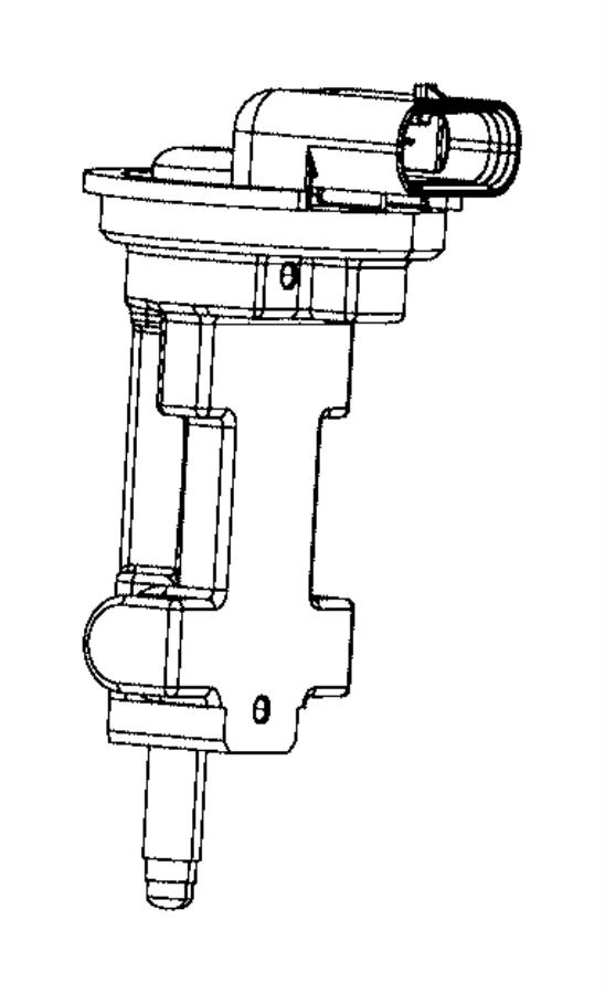 2013 Dodge Challenger Sensor. Camshaft. Includes mounting