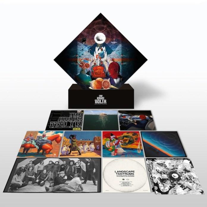 The Mars Volta publica una box-set de 18 vinilos para fans con mucha pasta