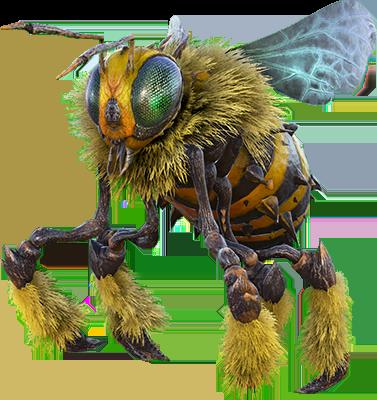 giant bee taming ko