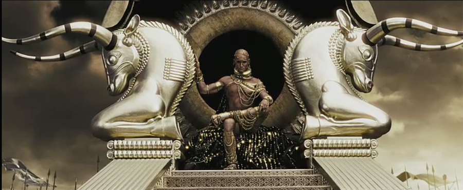 The God-King Xerxes